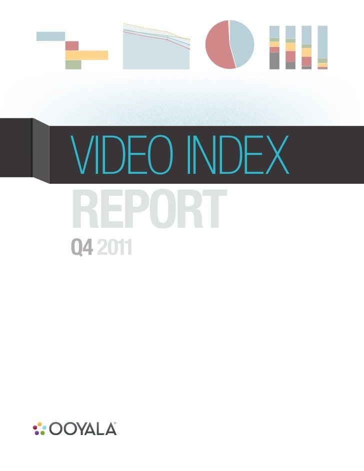 VIDEO INDEXREPORTQ4 2011