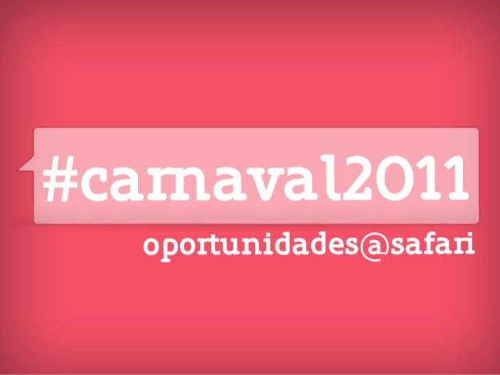 ideias carnaval
