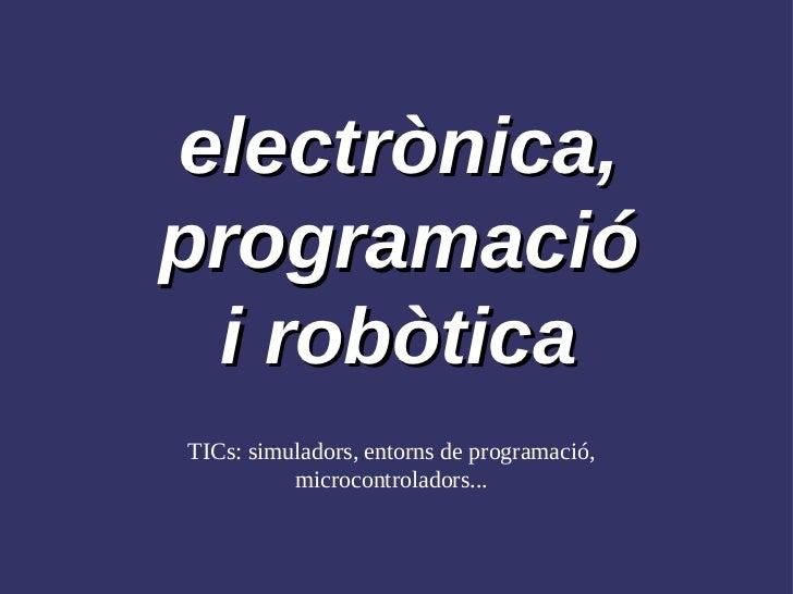 OP electrònica (metodologies)