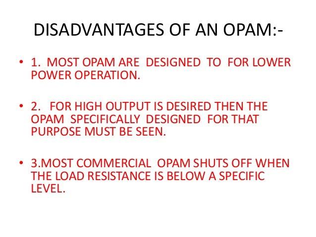 Horseshoe Classroom Design Advantages And Disadvantages : Op amp operational amplifier