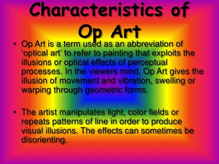 Characteristics Of Line In Art : Op art by christina anderson