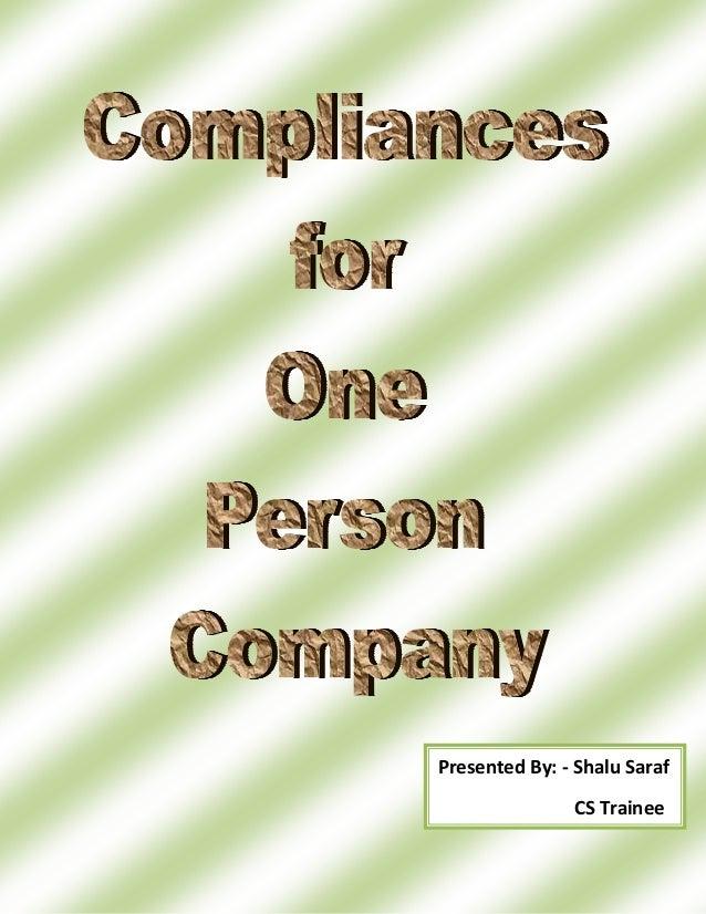 Opc compliances