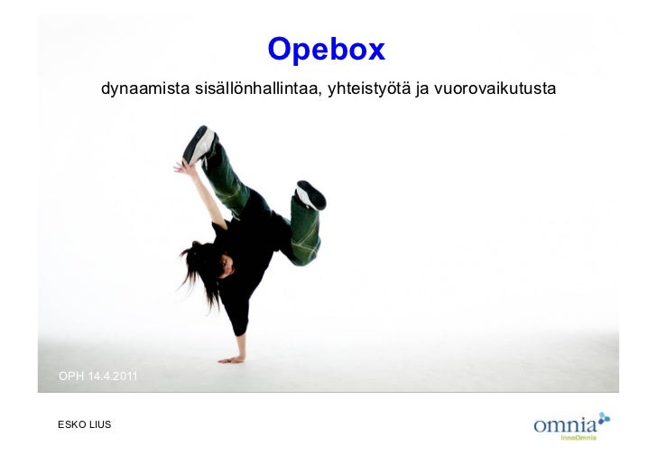 Opebox-taustaa
