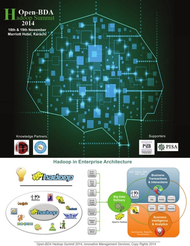 Hadoop in Enterprise Architecture  18th & 19th November  Marriott Hotel, Karachi  Knowledge Partners  Institute of  Busine...