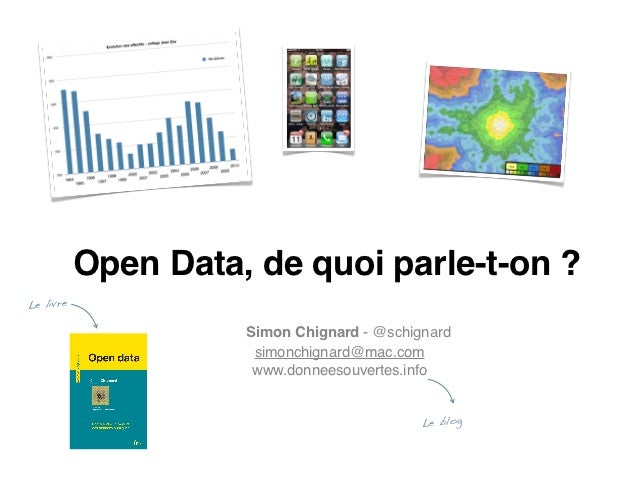 Open Data, de quoi parle-t-on ?