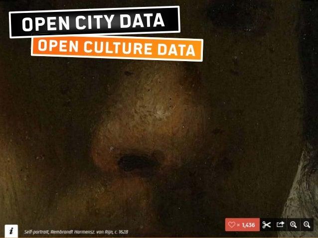 Open City Data & Open Culture Data