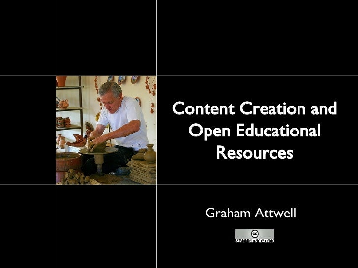 Open Educational Resources and Content Creation