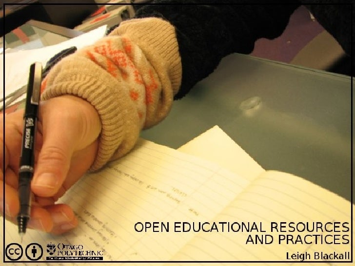 Open Educational Resources and Practices