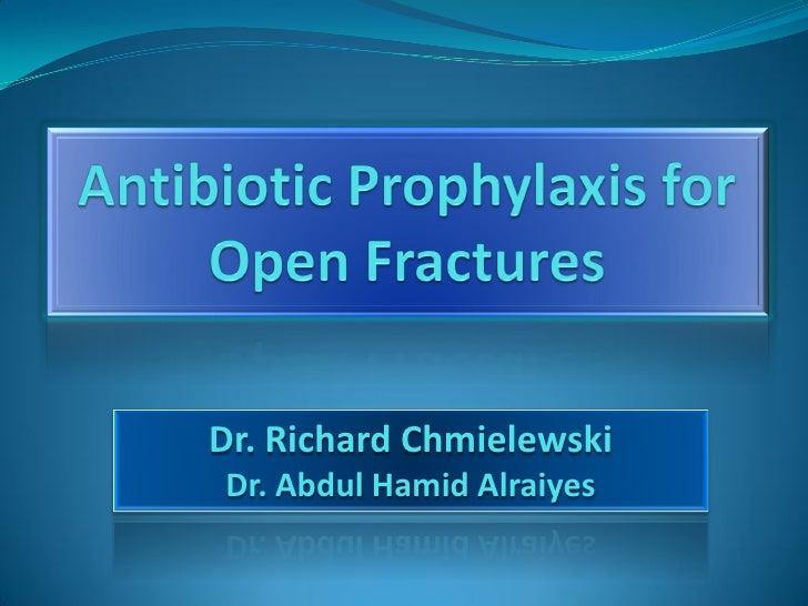 Dr. Richard Chmielewski Dr. Abdul Hamid Alraiyes
