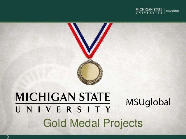 Gold Medal Projects