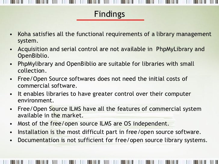 thesis library management system pdf free Presents an e-library system that was developed using php  the system design  of an online library management system  (pdf) through e-book viewer iv   library management system with php and mysql a bachelor's thesis.