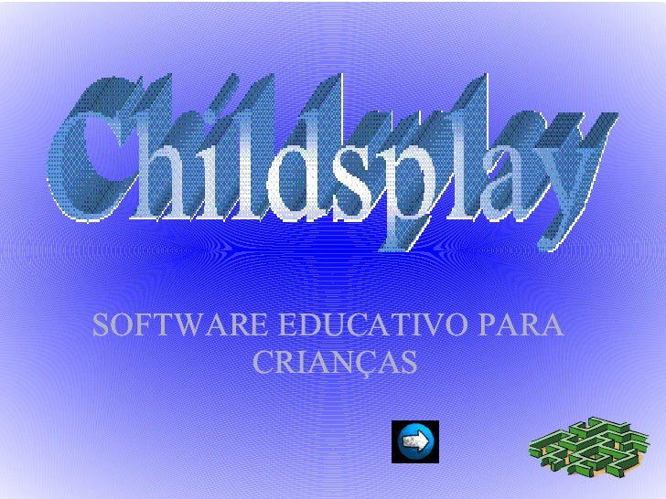 <ul><ul><li>SOFTWARE EDUCATIVO PARA CRIANÇAS </li></ul></ul>
