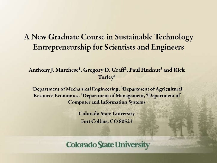 Open2012 new-graduate-course-sustainability-marchese