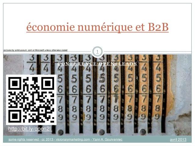 [Fr] impact économique et B2B - conférence open2leads