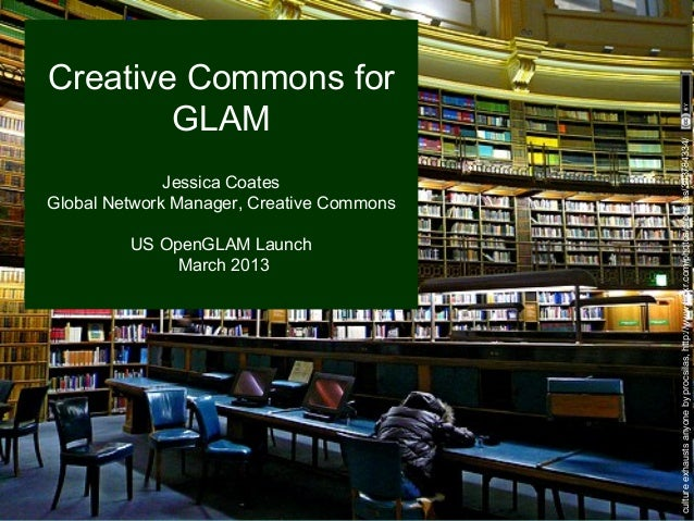 Creative Commons for        GLAM                                           culture exhausts anyone by procsilas, http://ww...