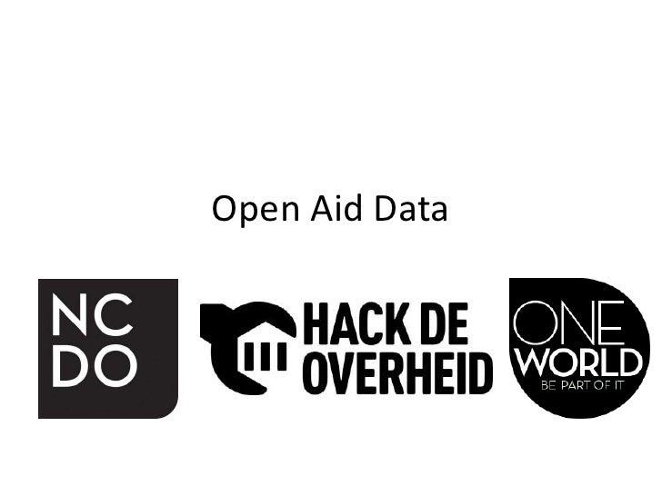 Open Aid Data Workshop Hackathon 16-06-2012