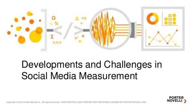 Open analytics talk -Developments and Challenges in Social Media Measurement
