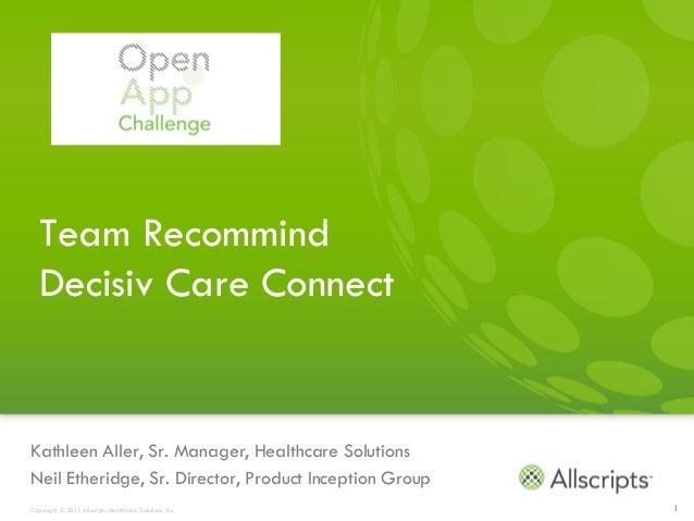 Open app challenge   phase 1 submission team recommind