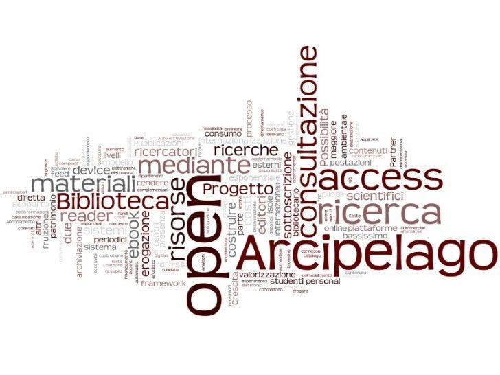 Open archipelago