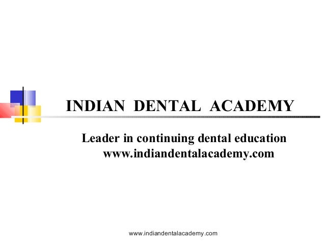 Open bite 1 /certified fixed orthodontic courses by Indian dental academy