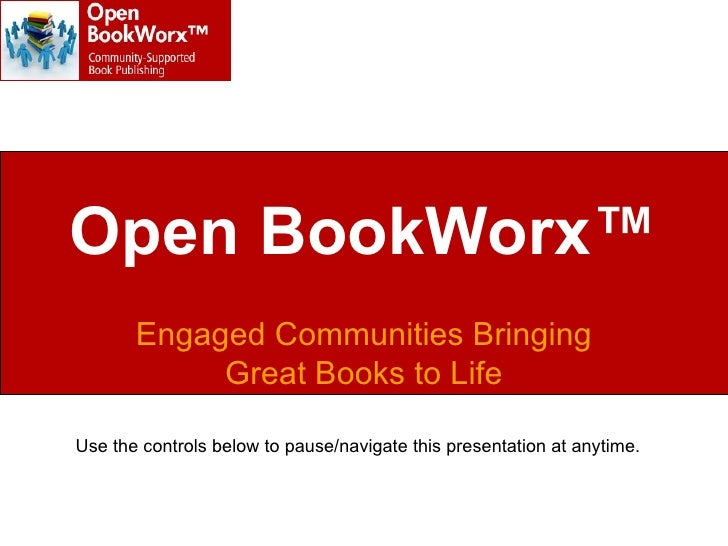 Open BookWorx:  Open Call to Nonfiction Authors
