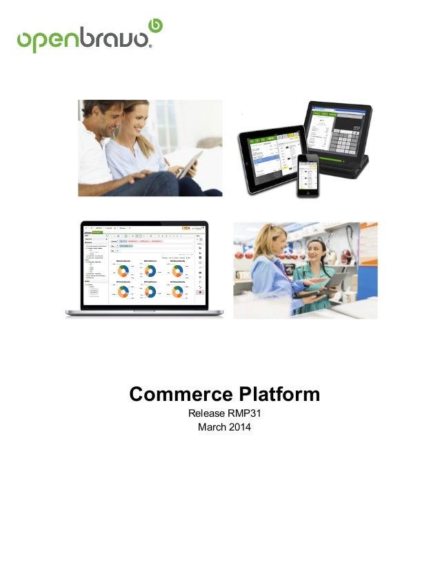 (English) Openbravo Commerce Platform Description March 2014