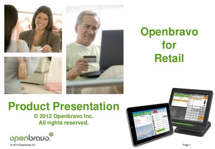 Retail                                          Openbravo                                             for                 ...