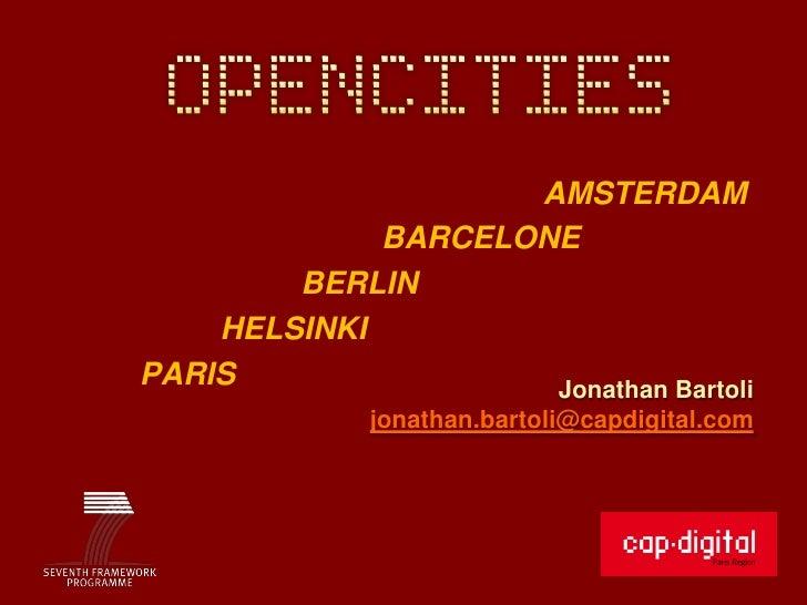 AMSTERDAM             BARCELONE        BERLIN    HELSINKIPARIS                Jonathan Bartoli             jonathan.bartol...