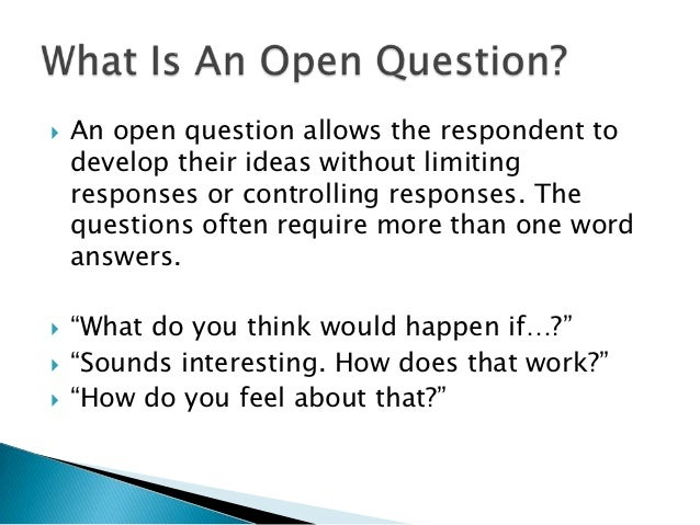 walthers thesis on open questions Writing a thesis statement open thesis vs closed thesis implicit thesis vs explicit thesis the thesis is a declarative sentence it is a clear, specific statement, which states to assist you in formulating your preliminary thesis, ask basic w questions that are related to your topic: who.