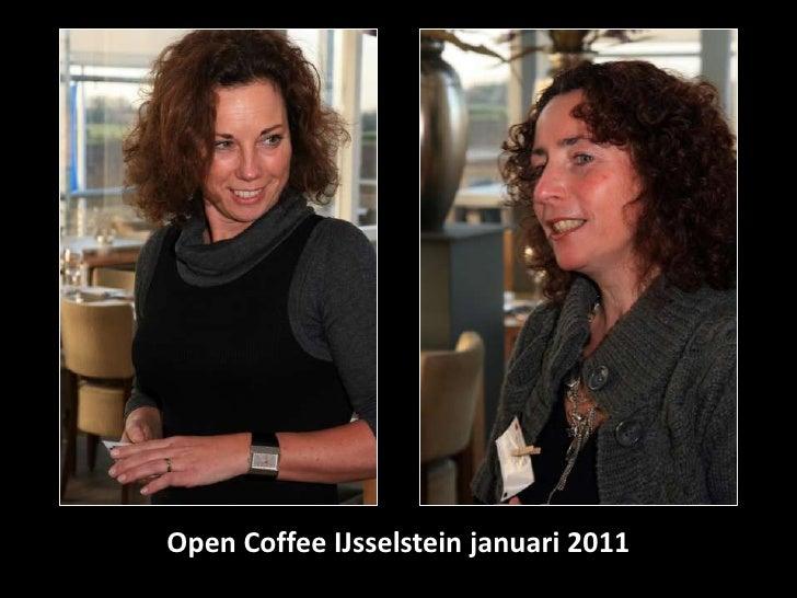 Open coffee IJsselstein januari 2011