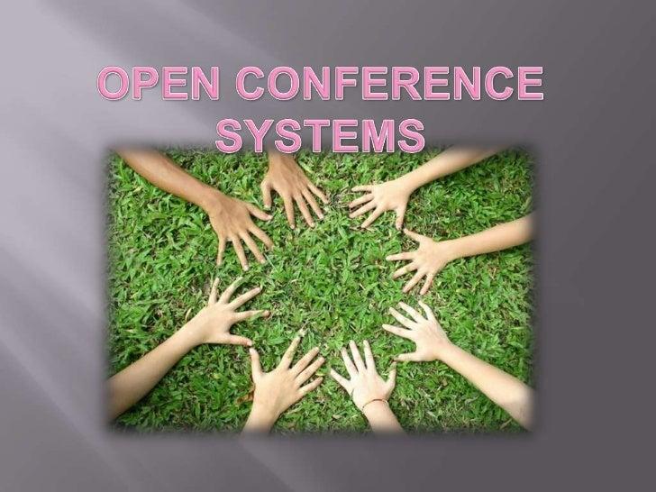 Open Conference Systems (OCS) es una                          herramienta de CMS gratuito que va a crear                  ...