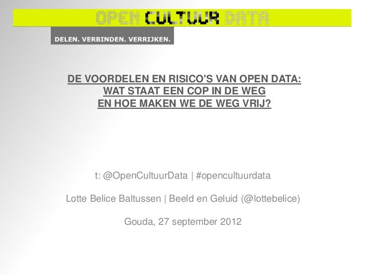 Open cultuur data - cop gouda gha