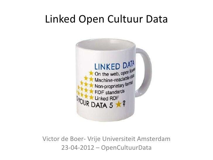Open cultuurdata lod
