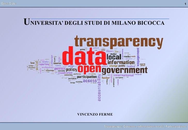 Open Data                                                                                      1            UNIVERSITA' DE...