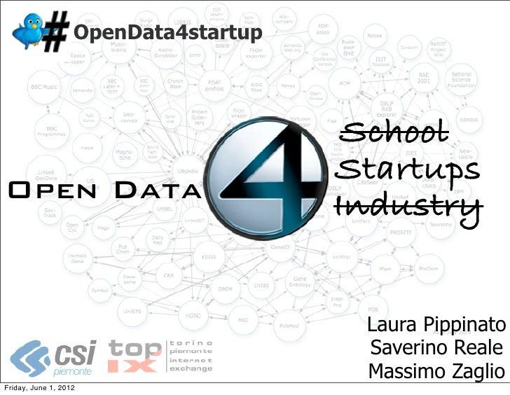 OpenData4startup                                       School                                      StartupsOpen Data      ...