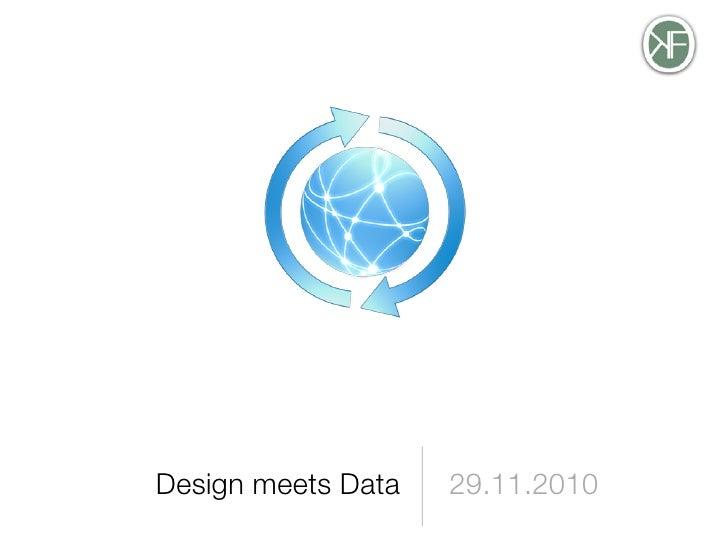 Open data Design meets Data