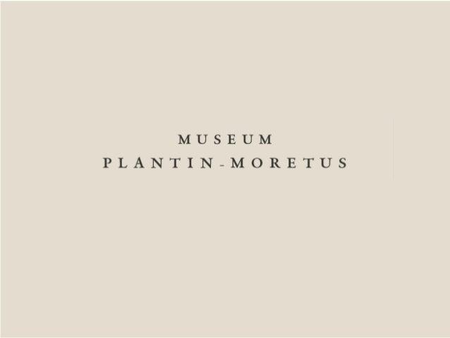 Open data @ Museum Plantin-Moretus
