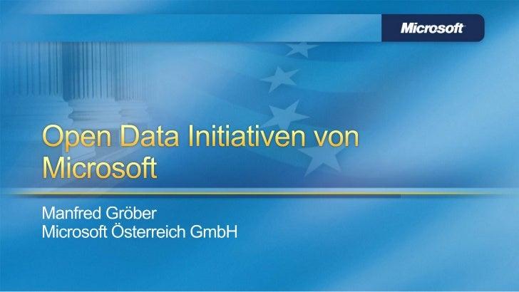 www.odata.orghttp://odaf.codeplex.com/https://datamarket.azure.com/http://www.microsoft.com/industry/government/opengovdat...