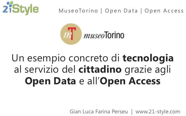 MuseoTorino - Open Data e Open Access