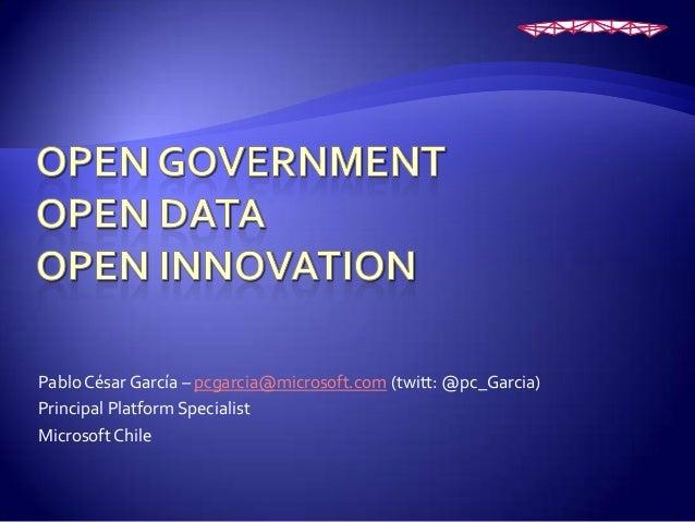 Open Data: Reutilización y actualización