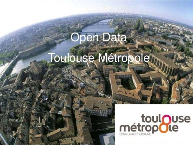 Open Data Toulouse Métropole