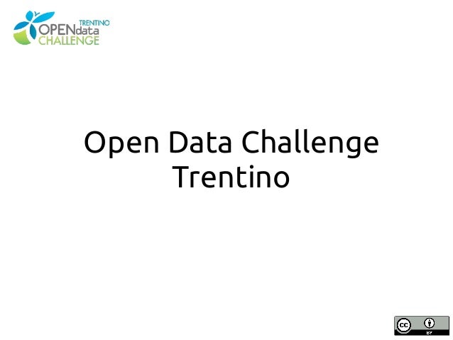 Opendata Trentino Challenge