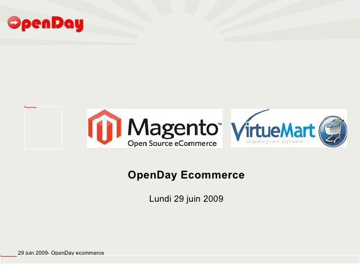 OpenDay ecommerce Open Source
