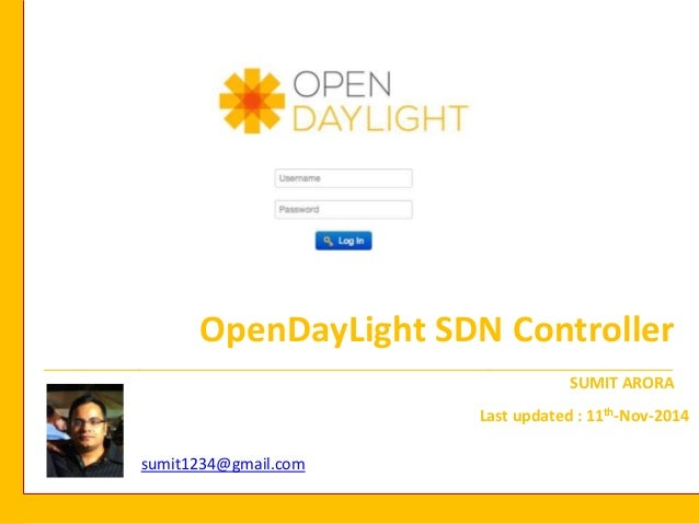 Opendaylight SDN Controller