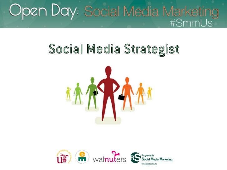 Diferentes planos de trabajoCommunity Manager          Estratega Social   Operativo                    Media