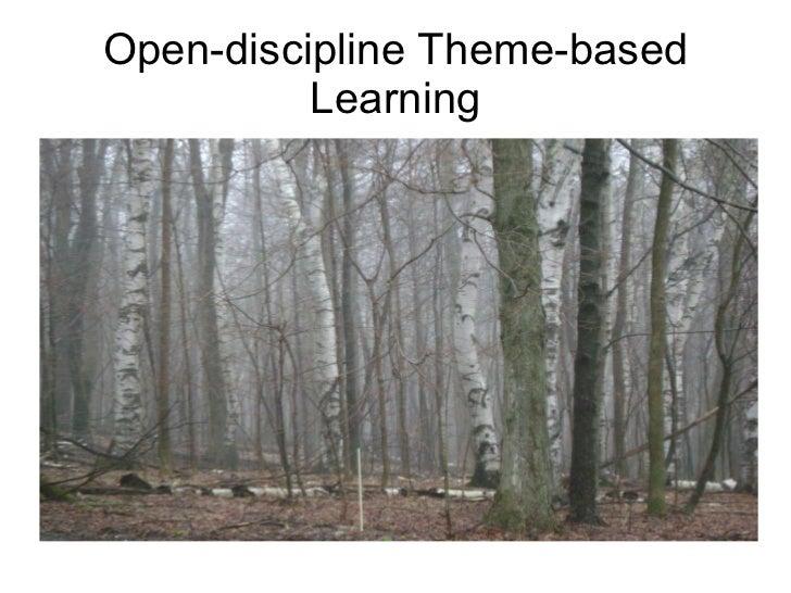 Open-discipline Theme-based Learning