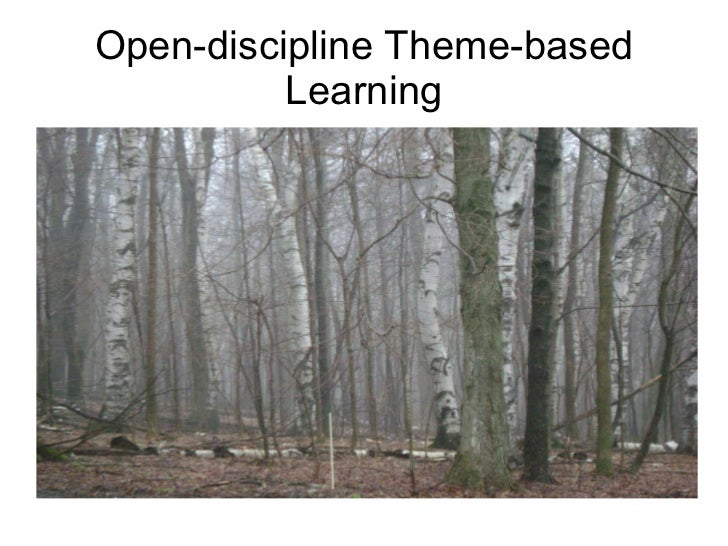 Open discipline theme based learning
