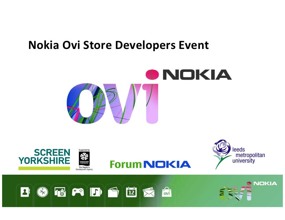 Nokia Ovi Store Developers Event