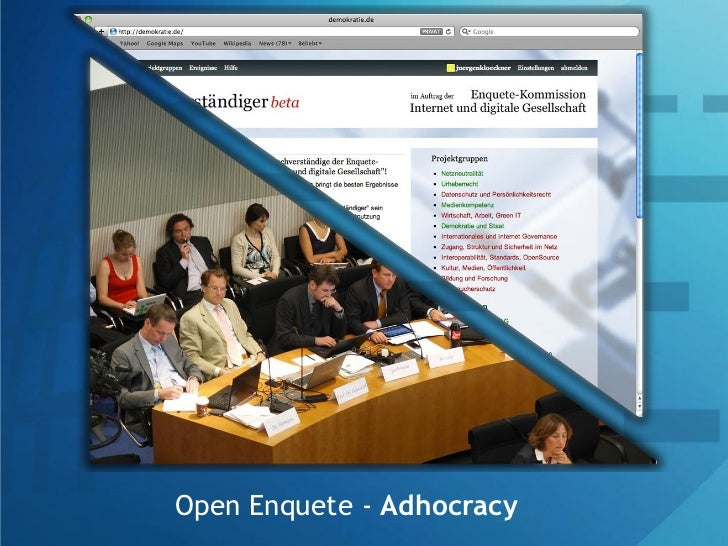 Open Enquete - Adhocracy