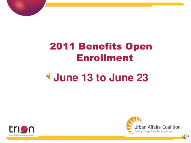 UAC Open Enrollment 2011